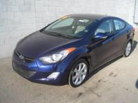 This 2012 Hyundai Elantra Limited PZEV is proudly