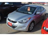 We are excited to offer this 2012 Hyundai Elantra.