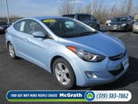 Climb inside the 2012 Hyundai Elantra! Offering an