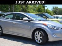 This Elantra features:38/28 Highway/City MPGAwards:  *
