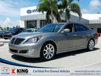 2012 HYUNDAI EQUUS SIGNATURE SERIES EDITION with a 5.0L