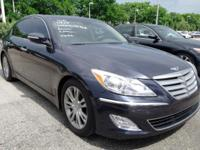 Options:  2012 Hyundai Genesis 3.8|Blue|Option Group