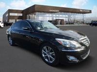 Hyundai Certified and Jet Black w/Leather Seating