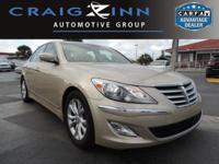 PREMIUM & KEY FEATURES ON THIS 2012 Hyundai Genesis