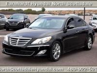 The used 2012 Hyundai Genesis in Scottsdale, AZ is
