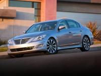 Recent Arrival! 2012 Hyundai Genesis White Satin Pearl