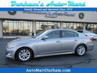CarFax Certified Hyundai Genesis * Great Fuel Economy