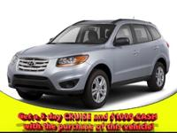 Hyundai Santa Fe GLS 2012 Grey AWD, Gray w/Deluxe Cloth