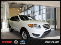 Form meets function with the 2012 Hyundai Santa Fe.