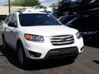 Recent Arrival! 2012 Hyundai Santa Fe GLS Frost White