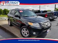ONE OWNER!! 2012 Hyundai Santa FE AWD V6 Limited. This