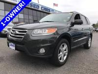 This 1-Owner Hyundai Santa Fe Limited was bought new