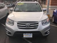 2012 Hyundai Santa Fe Limited In Moonstone Silver *