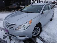 Options:  2012 Hyundai Sonata Gls|Silver|Recent