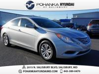 Silver 2012 Hyundai Sonata GLS LOCAL TRADE FWD 6-Speed