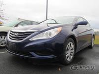 This 2012 Hyundai Sonata is equipped with the GLS trim