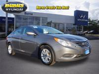 This outstanding example of a 2012 Hyundai Sonata GLS