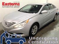 Options:  2012 Hyundai Sonata Gls Pzev|Silver|2012