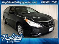 ** 2012 Hyundai Sonata in Black AURORA NAPERVILLE**,