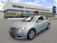This 2012 Hyundai Sonata GLS PZEV is Well Equipped with
