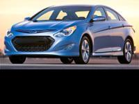 This 2012 Sonata Hybrid is for Hyundai enthusiasts