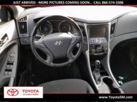 Options:  2012 Hyundai Sonata Limited 2.0T|Black|Heated