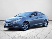 2012 Hyundai Sonata Harbor Gray Metallic Limited FWD