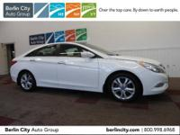 One owner 2012 HYUNDAI SONATA LIMITED SEDAN with just