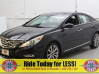 Blue 2012 Hyundai Sonata SE FWD 6-Speed Automatic with
