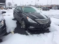 Clean CARFAX. Black 2012 Hyundai Sonata FWD 6-Speed