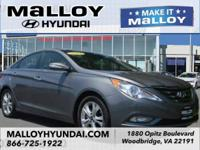 CARFAX One-Owner. Harbor Gray Metallic 2012 Hyundai