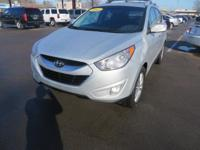 This 2012 Hyundai Tucson is a five-passenger compact