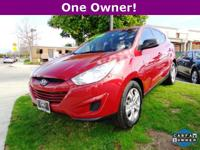 Options:  2012 Hyundai Tucson Gl|Red|6 Speakers|Am/Fm