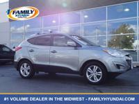 Come see this 2012 Hyundai Tucson GLS. Its Automatic