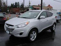 Hyundai Tucson Silver 30/21 Highway/City MPG  Options: