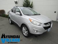 2012 Hyundai Tucson Limited in Diamond Silver, Bought &