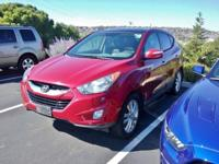2012 Hyundai Tucson Red AWD 6-Speed Automatic with