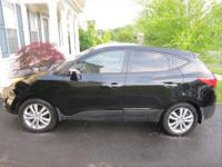 2012 Hyundai Tucson Limited Edition. Fully installed,