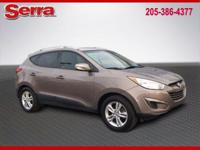 2012 Hyundai Tucson Limited FWD 6-Speed Automatic with