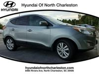 Diamond Silver 2012 Hyundai Tucson Limited FWD 6-Speed
