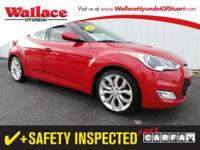2012 HYUNDAI Veloster 3 DOOR COUPE 3dr Cpe Auto w/Black