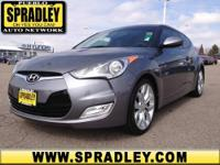 2012 Hyundai Veloster 3dr Car Our Location is: Spradley