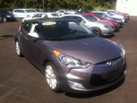 2012 Hyundai Veloster 3dr Car w/Black Int Our Location