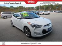 New Price! 2012 Hyundai Veloster in White. 3D