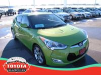 This 2012 Hyundai Veloster w/Black Int is offered to