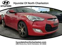 2012 Hyundai Veloster FWD 6-Speed 1.6L 4-Cylinder DGI