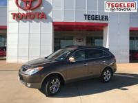 2012 Hyundai Veracruz Limited Bronze FWD 6-Speed