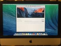 "2012 iMac 21"" 1TB hard drive 16GB Ram i5 processor This"