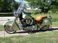 For Sale, a Willow Green & Ivory Cream 2012 Indian