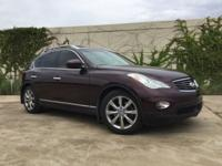 Midnight Garnet 2012 INFINITI EX35 Journey RWD 7-Speed